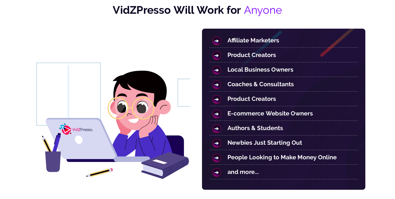 vidzpresson review and bonus